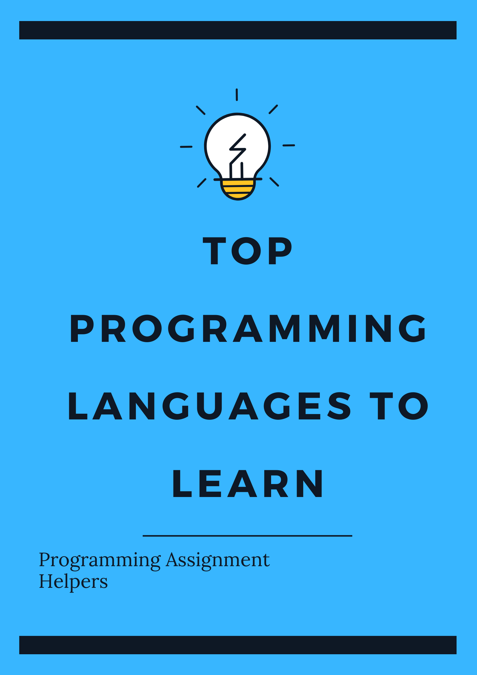 Programming Languages To Learn