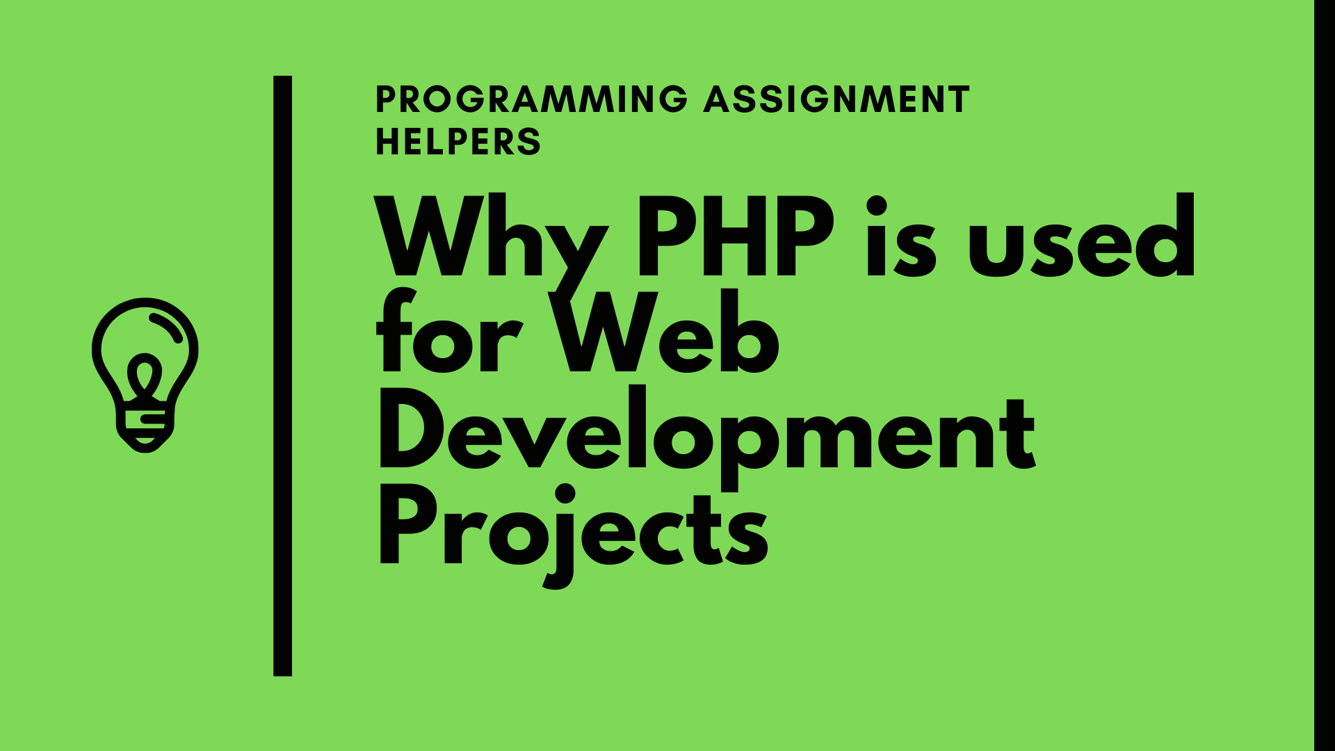 Applications Of PHP
